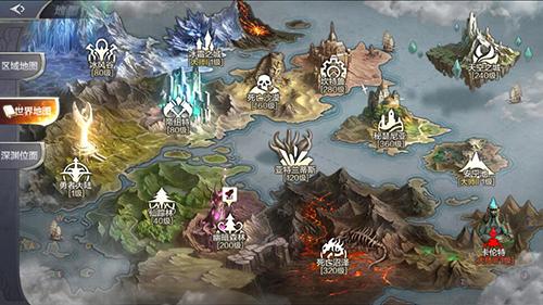 《奇迹MU:觉醒》200级前世界地图副本介绍