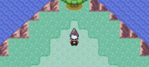 诞生之岛三角的推法