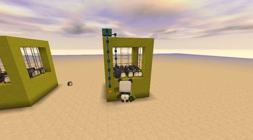 《迷你世界》夹娃娃机制作方法